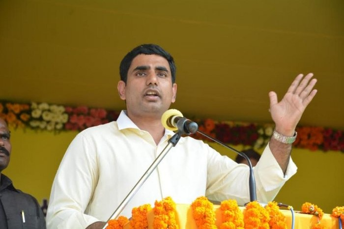 Nara Lokesh calls Jagan as Pulivendula Pilli