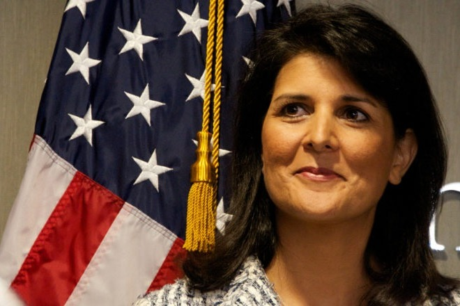 Number one Threat for US is China says Nikki Haley