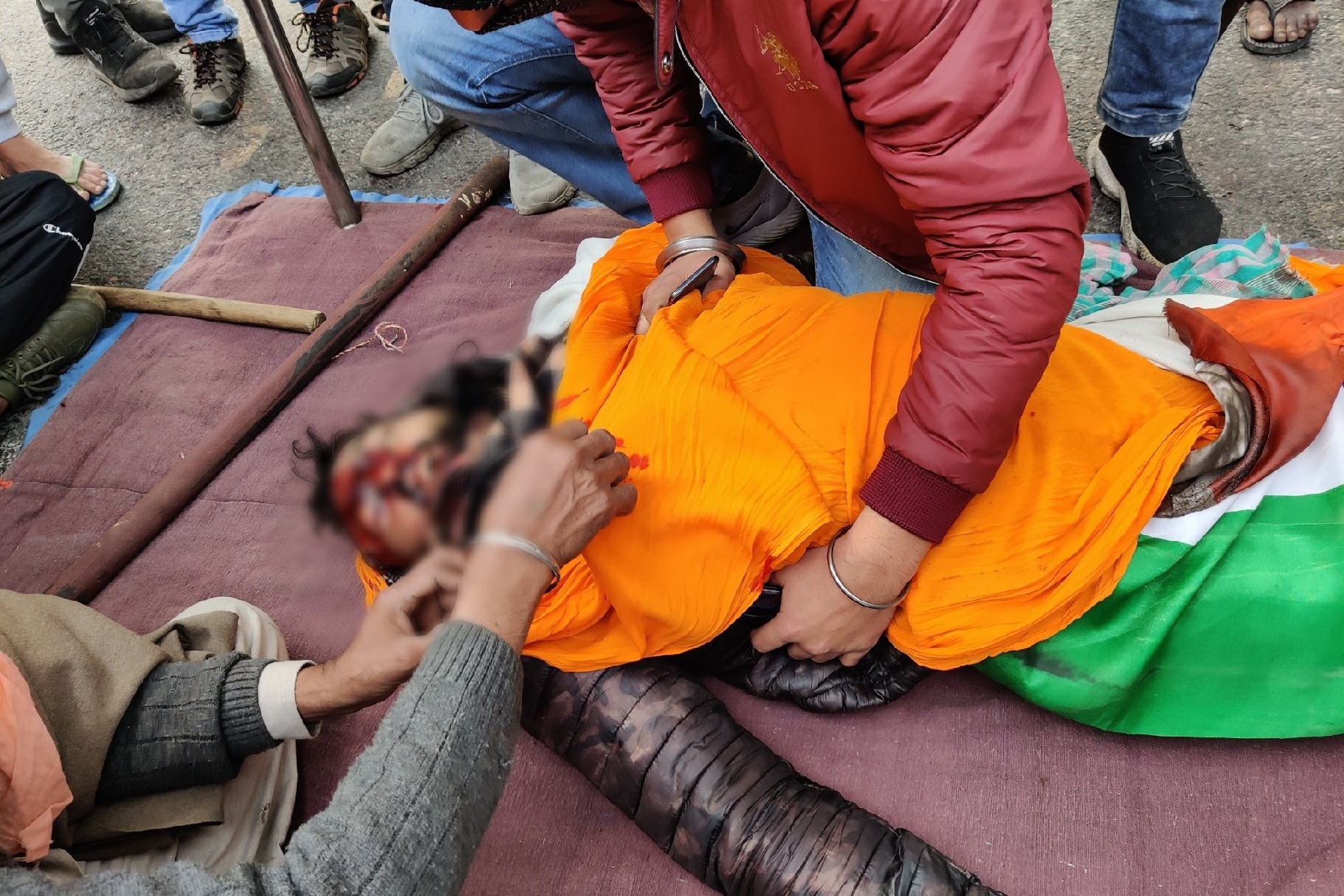 Farmer died in protests