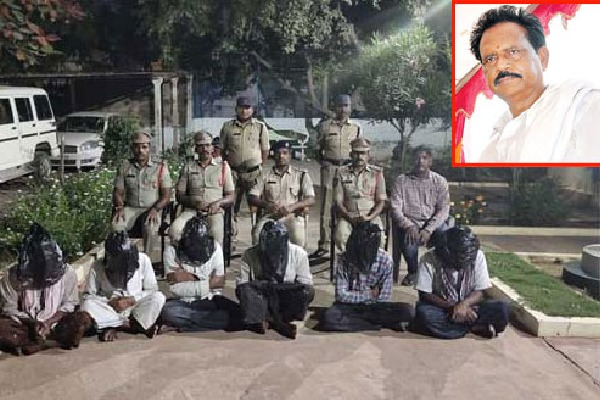 Six persons arrested in TDP Leader Ankulu murder case