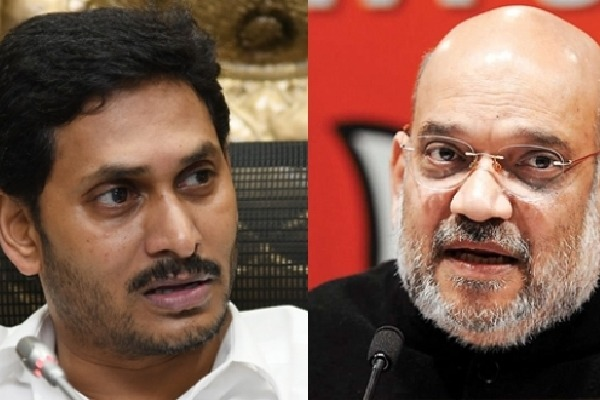 Amit Shah speaks to Jagan by Phone