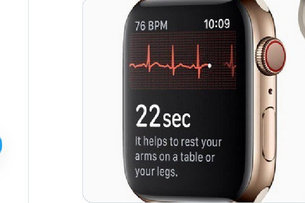 Apple watch saves elderly man life in Madhyapradesh