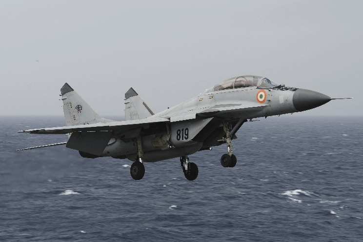 MIG 29K Crashed in Arebian Sea