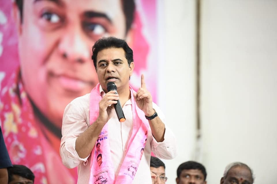 There will be no alliance with MIM says KTR