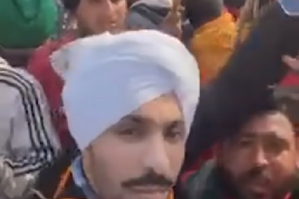 Protesters Angry Over Actor Deep Sidhu