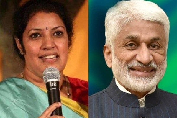 Vijayasai criticises Purandeshwari as caste leader