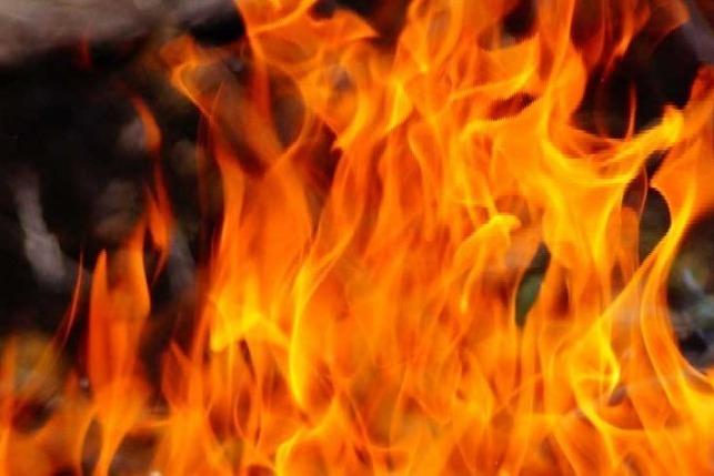 car burnt in shamshabad while celebrating diwali