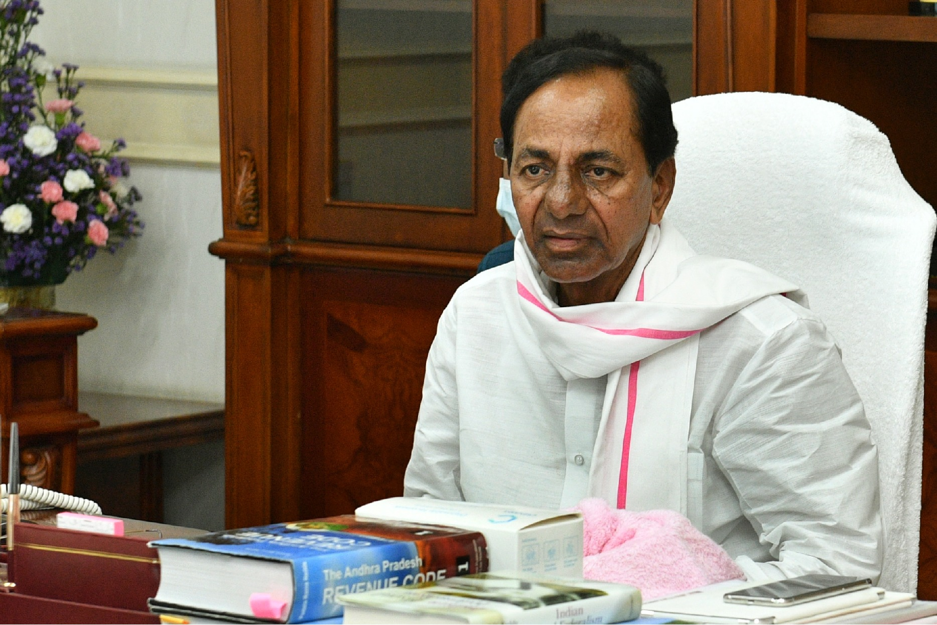 CM KCR accuses AP Government makes false allegation on irrigation projects