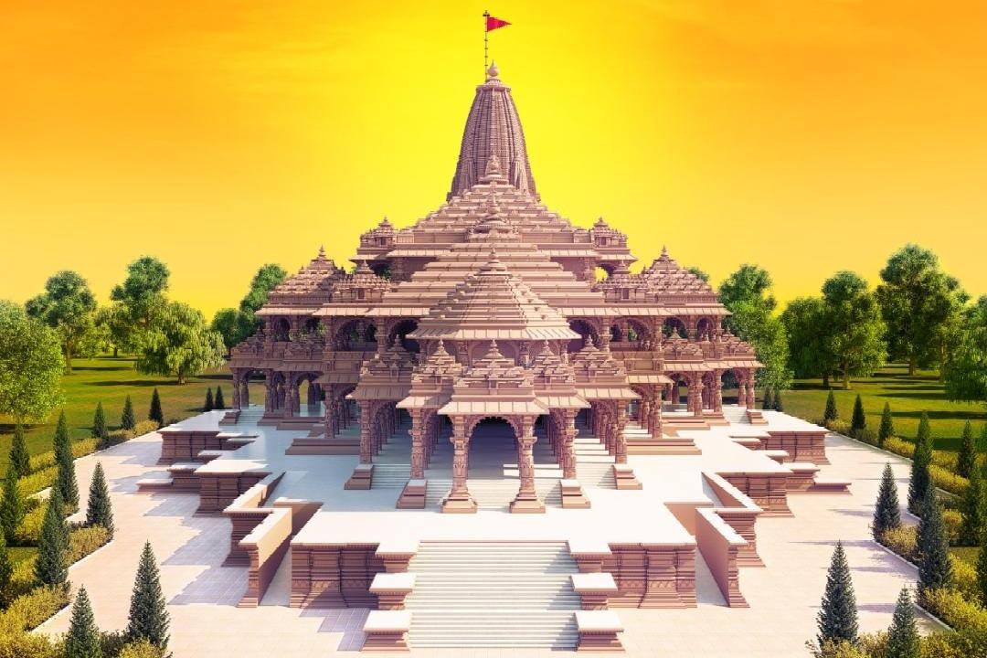 BJP leaders shares pictures of proposed Ram Mandir designs in Ayodhya