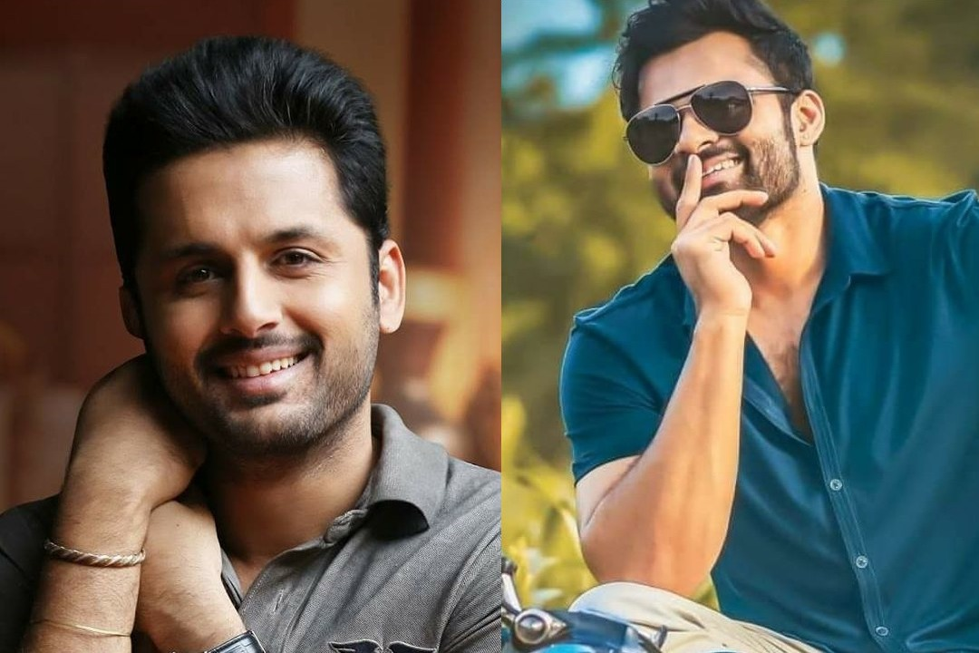 Nithin wishes his friend Saitej on birthday