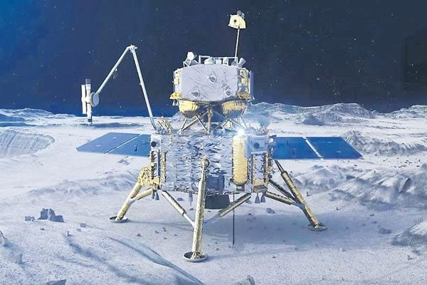 China spacecraft bring rocks back to Earth