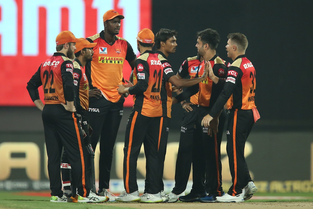 SRH bowlers restrict RCB batsmen for a low score