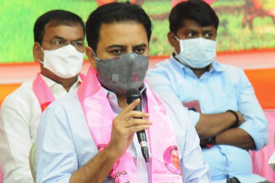 This election TRS will score century says KTR