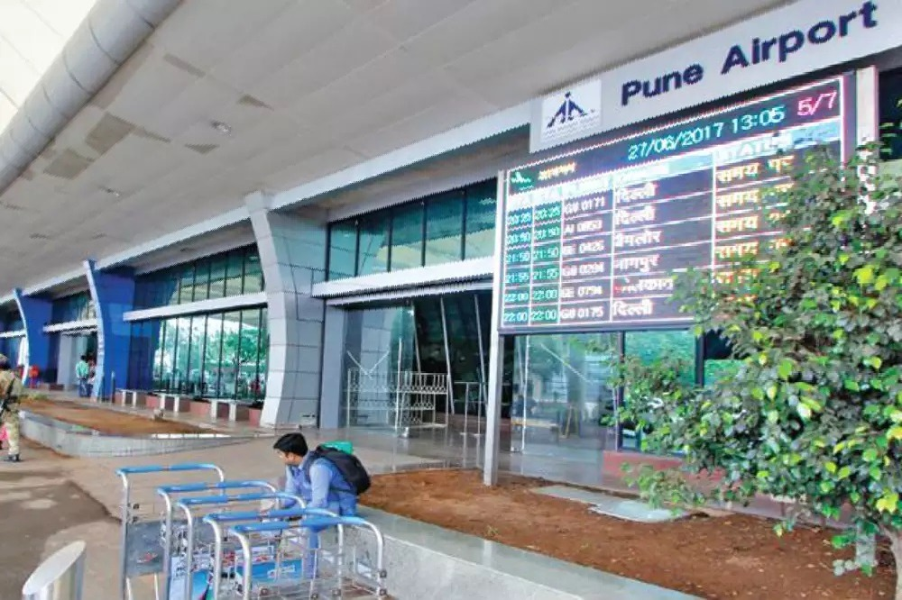 Flights Started from Pune with Vaccine