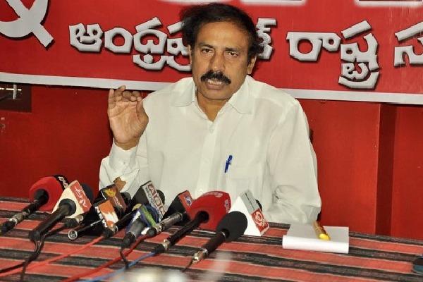 CPI Ramakrishna faults Sunil Deodhars comments