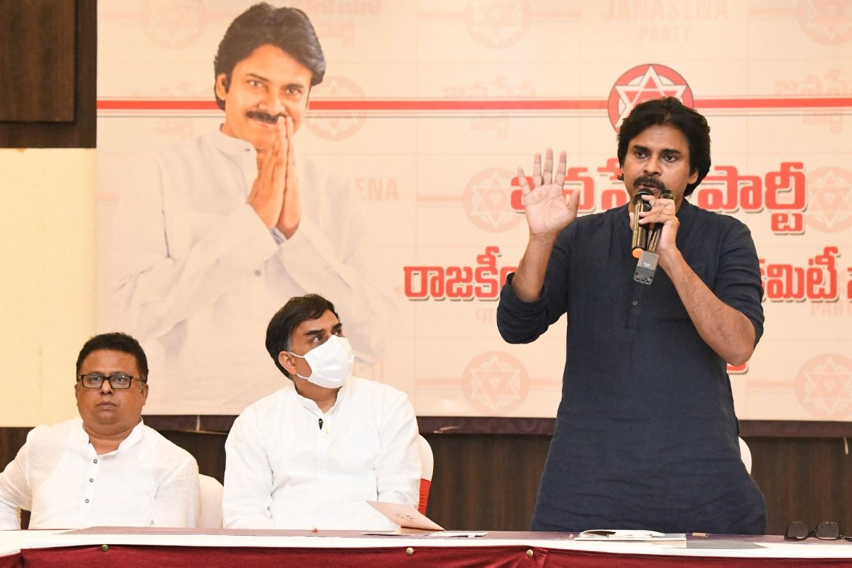 Next Week Will Decide Jana Sena Candidate For Tirupati By Poll