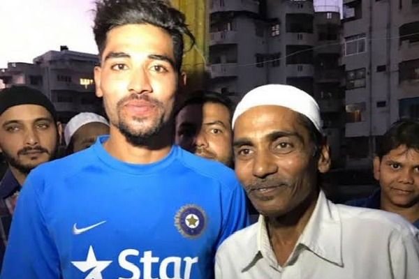 Mohammad Siraj lost his father due to lung infection