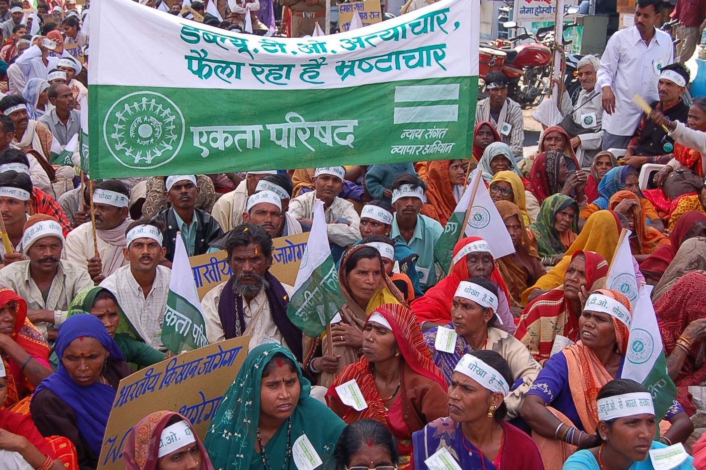 AIIEA solidarity to farmers pesant movement