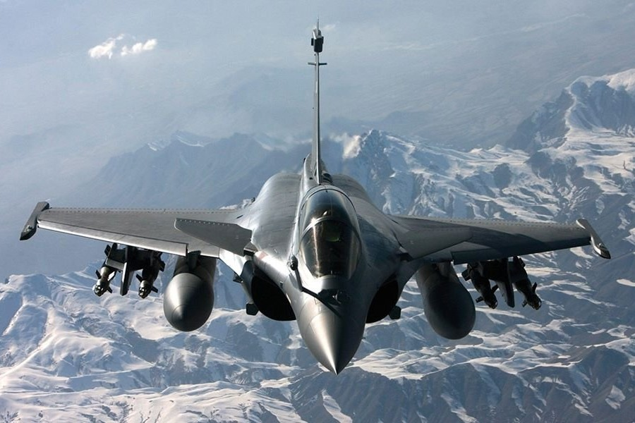 Rafale jet fighters from France will be delivered next month