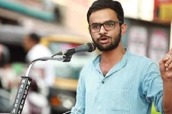 Delhi Student Leader Umar Khalid in Police Custody