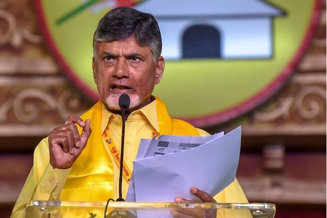 TDP supremo Chandrababu video conference with party leaders