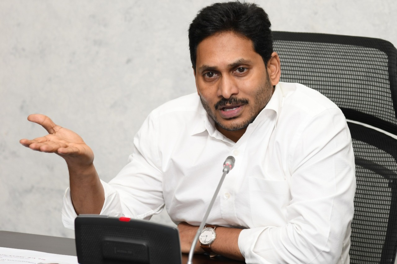 CM Jagan alleges Chandrababu intentionally intercepting assembly session