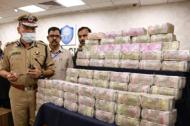 Hawala rocket busted by west zone task force police in Hyderabad