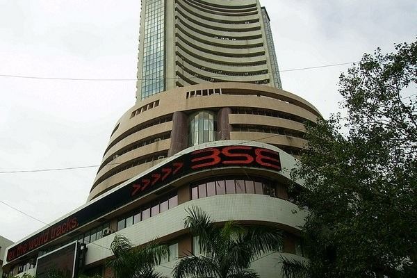 Sensex ends 282 points high