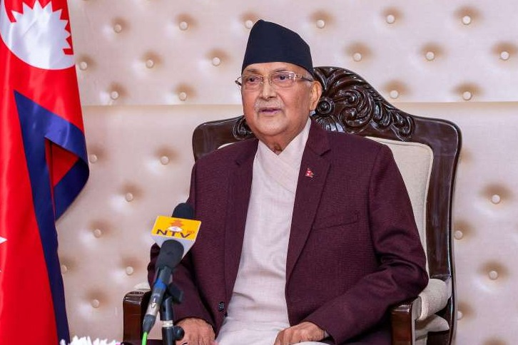 KP Oli facing heat in his own country