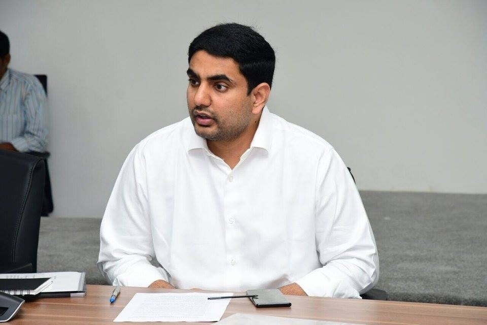 Nara Lokesh says he was saddened after saw a corona patient died in bathroom