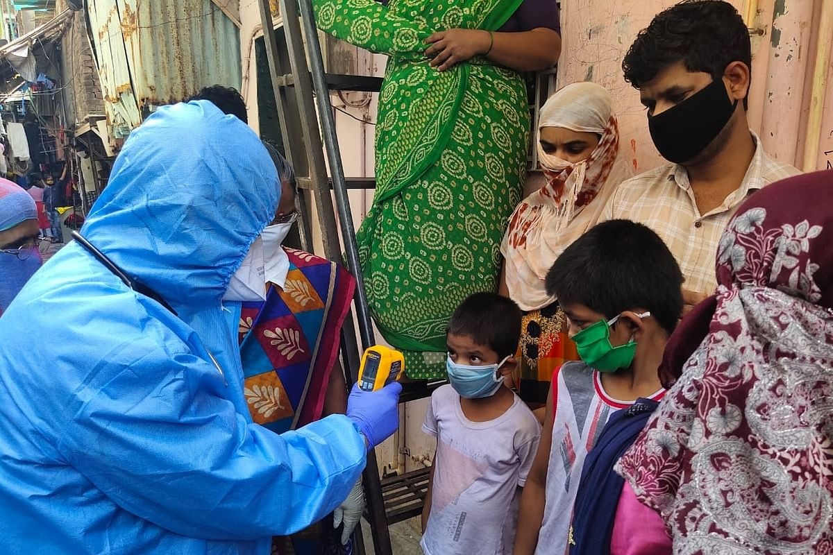 Antibodies found in a Mumbai slum area people