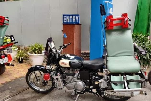 DRDO designs bike ambulance