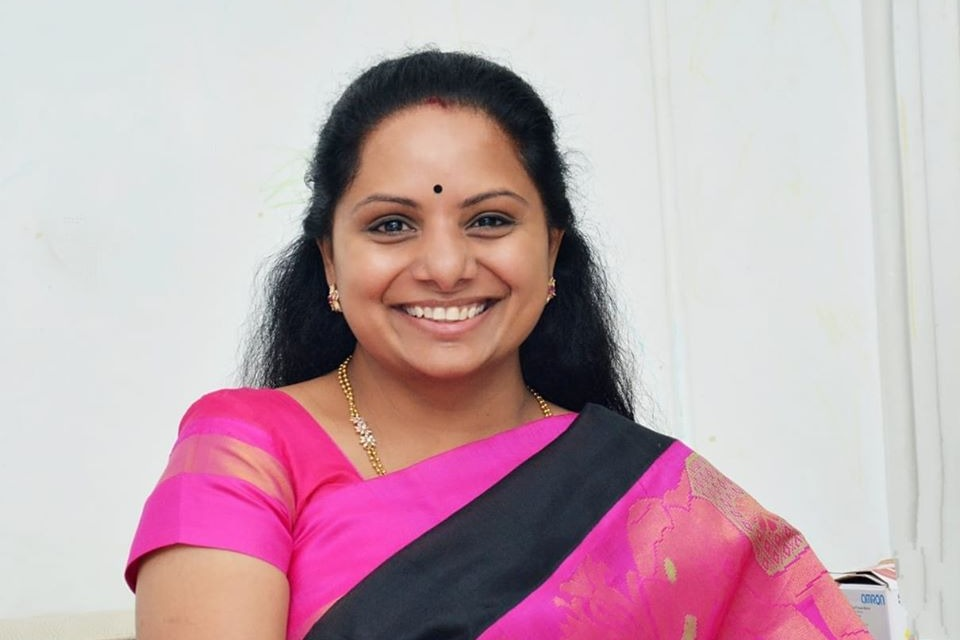TRS stopped BJP in Hyderabad says Kavitha