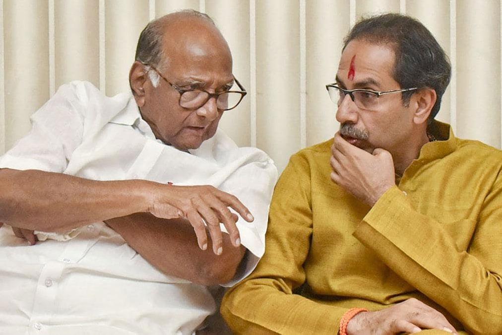 Maharashtra bjp chief Chandrakant patil says sharad pawar runs the state