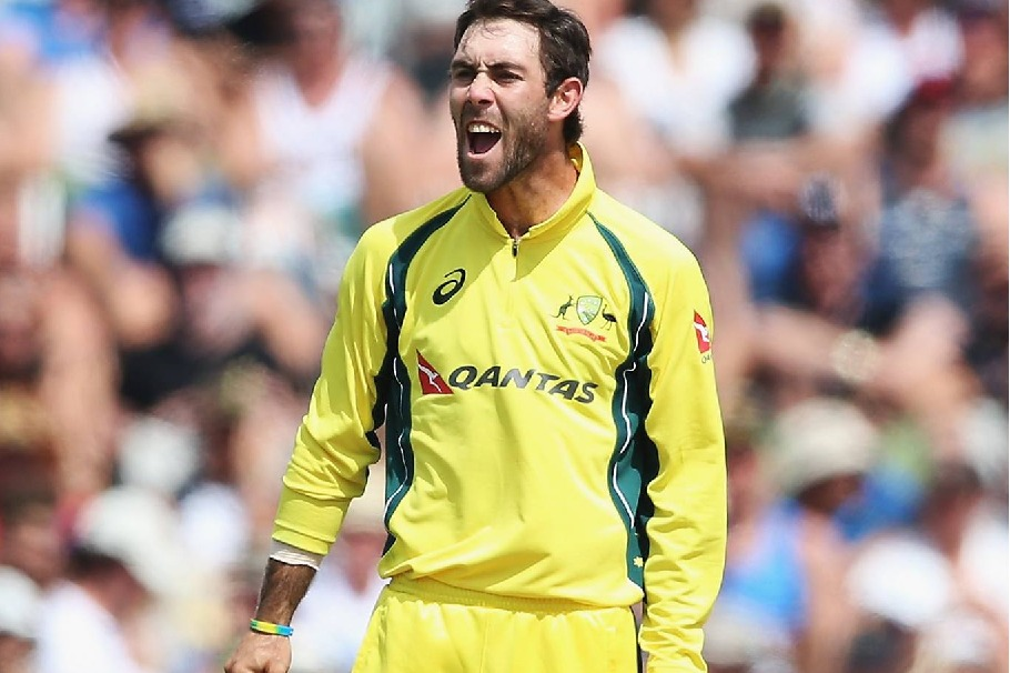 Aussies all rounder Glenn Maxwell reacts to Virendra Sehwag cheerleader remark