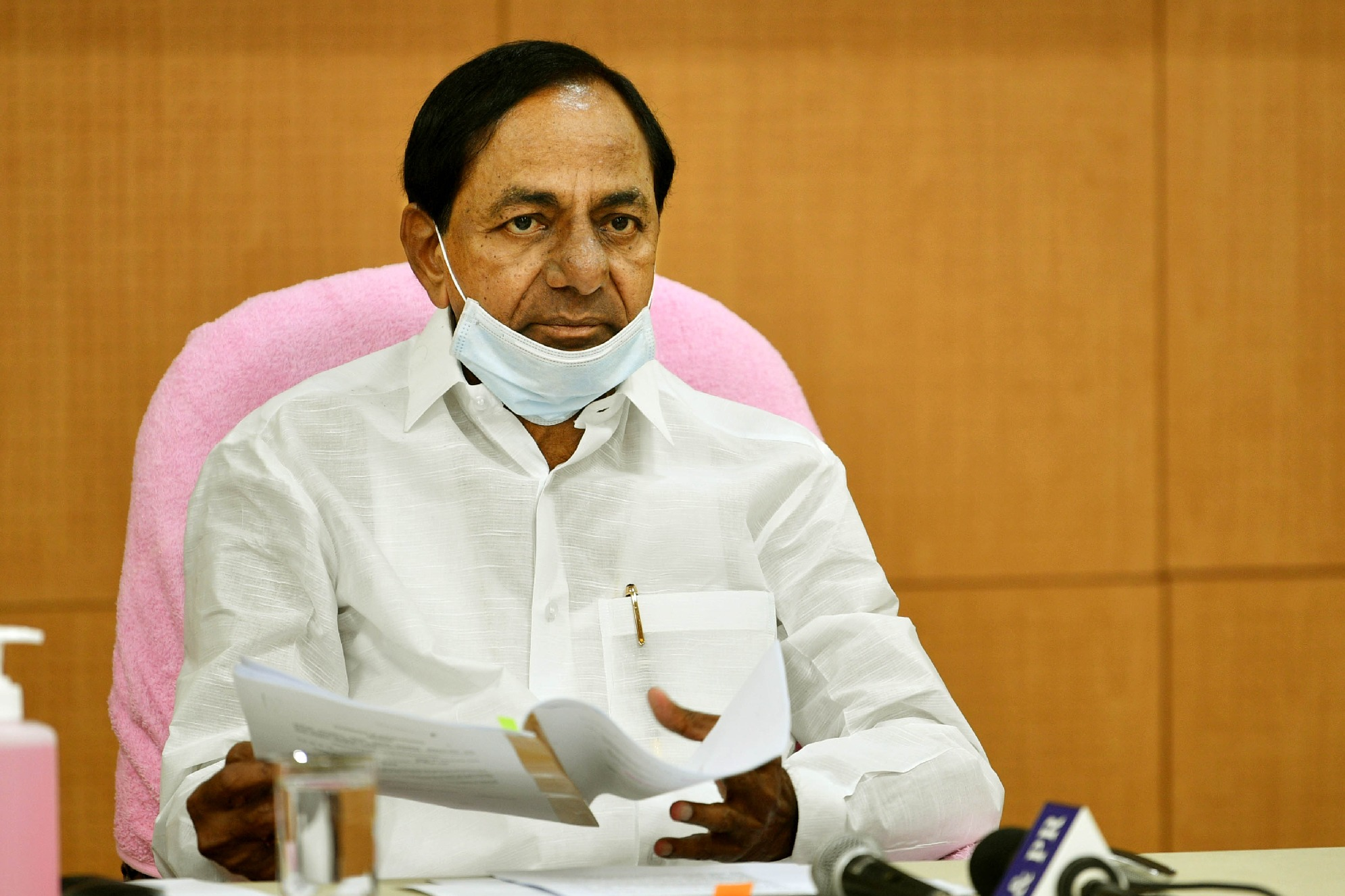 Telangana govt taken prior steps ahead of vaccination