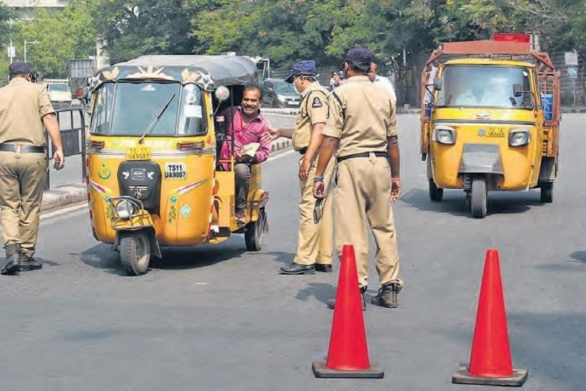 telangana police registered 35 thousand cases for not wearing masks