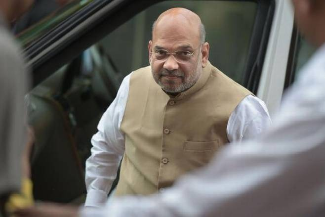 Amit Shah reviews tractor rally of farmers