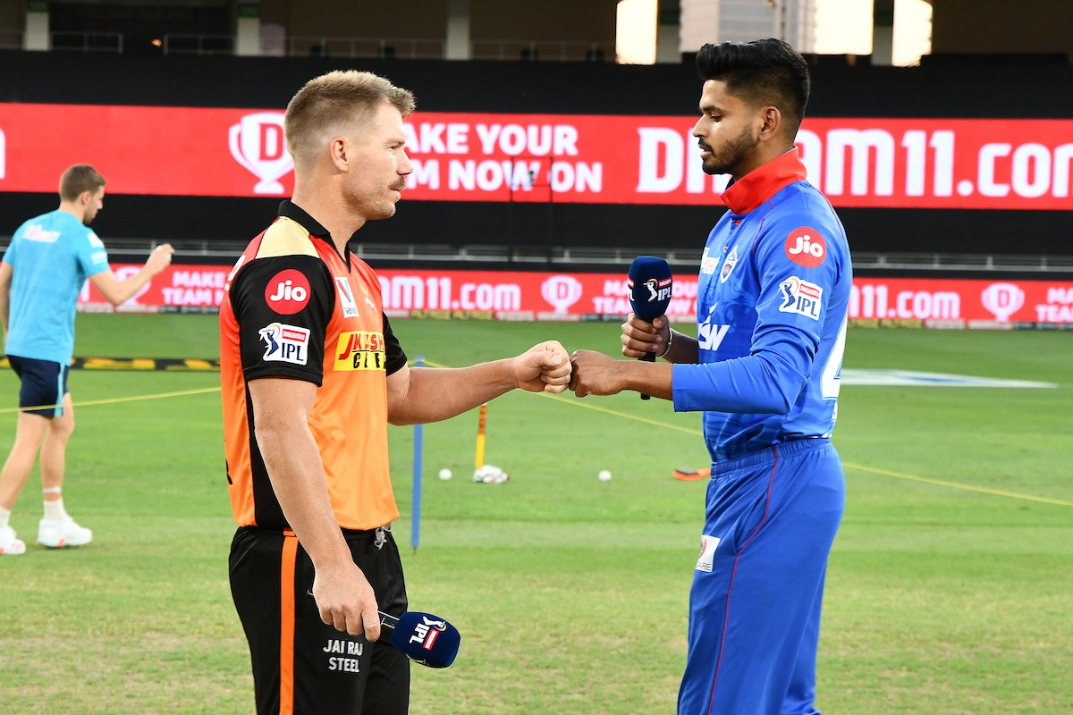 Delhi Capitals won the toss against Sunrisers Hyderabad