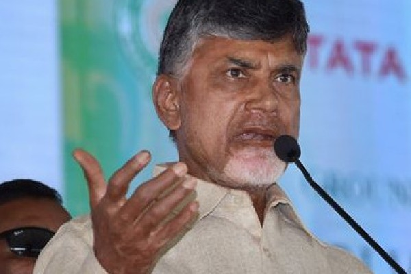 Chandrababu alleges AP government gifted Vijayasai Reddy on his birthday