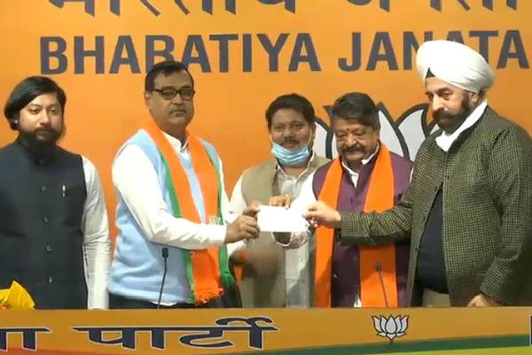 Trinamool MLA Mihir Goswami Joins BJP