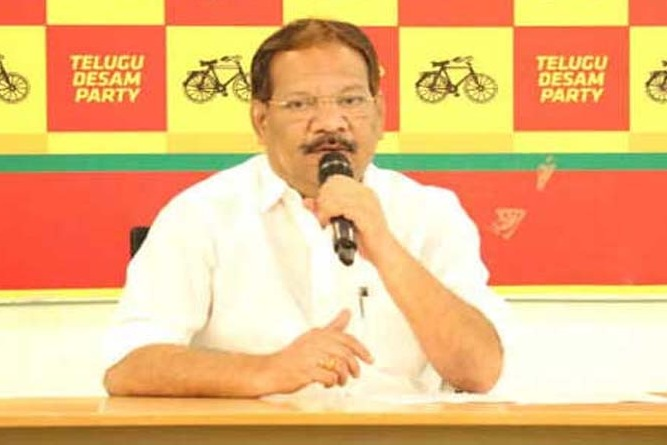 Today is a dark day for AP says Nakka Anand Babu