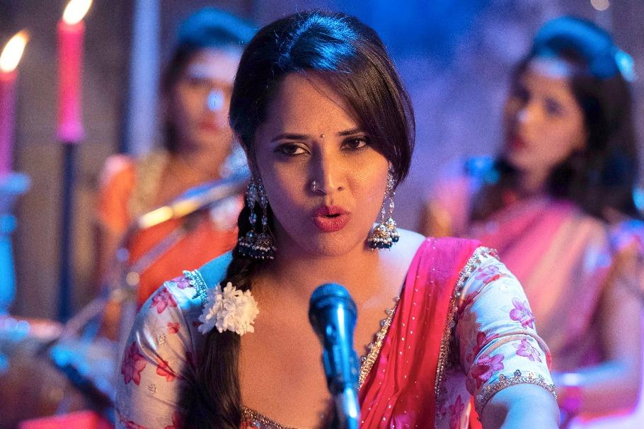 Anasuya featuring a special song in Chaavu Kaburu Challaga