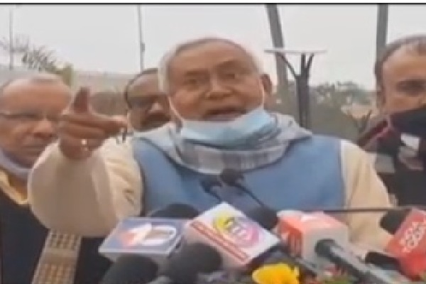 Who Are You Supporting Nitish Kumars Outburst Over Murder Case