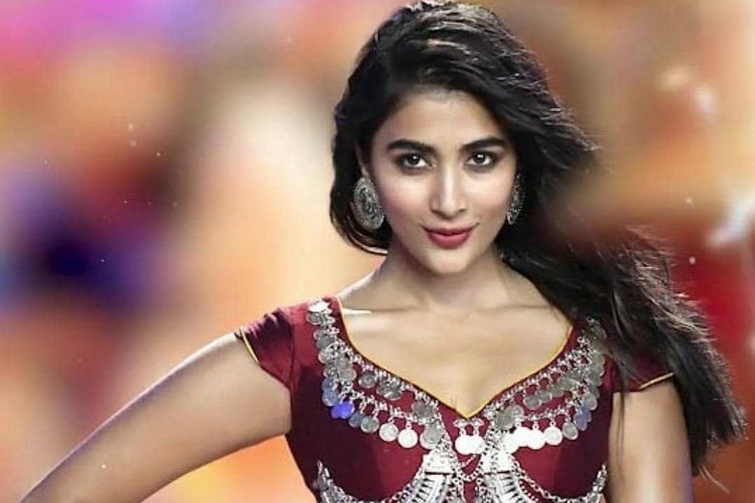Does the charecter go to Pooja Hegde