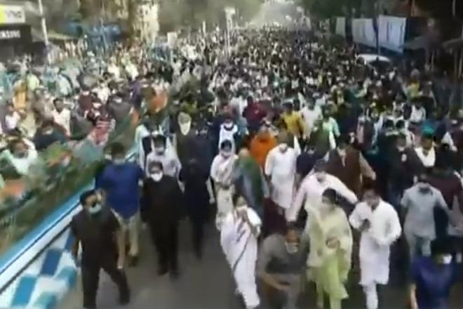 Mamata Banerjee leads massive rally in Kolkata on Netaji birth anniversary