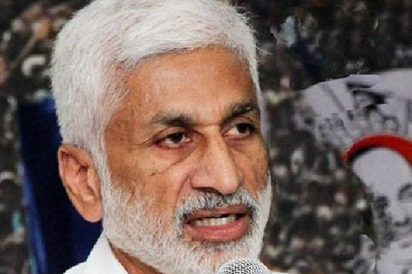 Vijayasi Reddy says Chandrababu causes present salary crisis