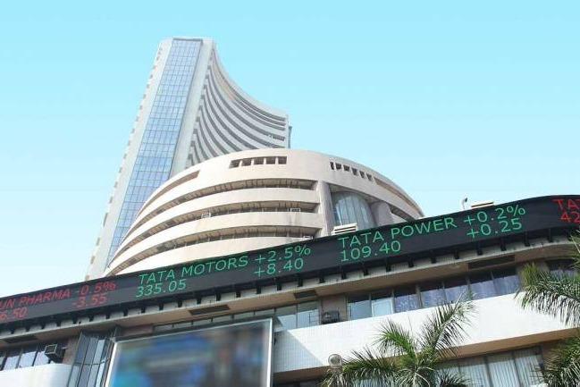 Sensex ends with huge gains