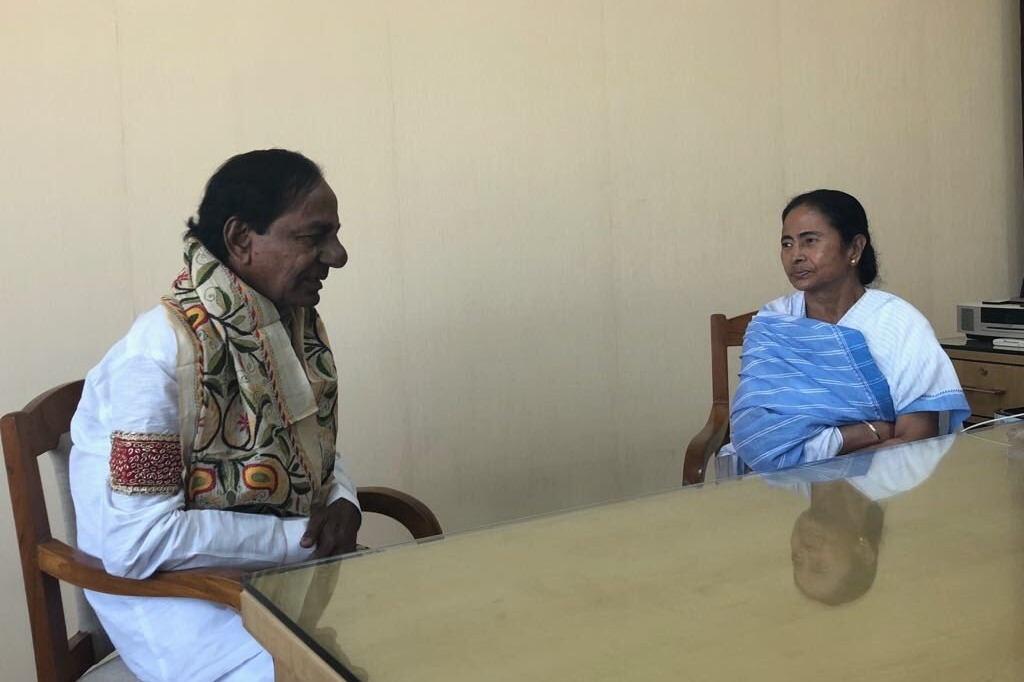 Mamata Banarjee donates Two crore rupees to Telangana CM Relief Fund