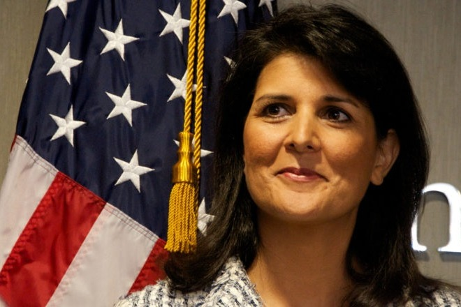 Nikki Haley Fires on Twitter